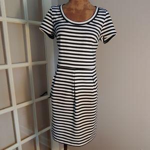 INC striped dress